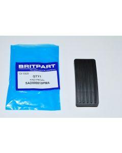 Accelerator pedal pad (TD5 and PUMA)