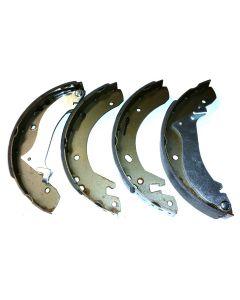 Rear Brake Shoes (axle set) - to YA999999 - Mintex