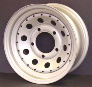 16x7 Silver Grey Modular - Tubeless - BACK IN STOCK !!!