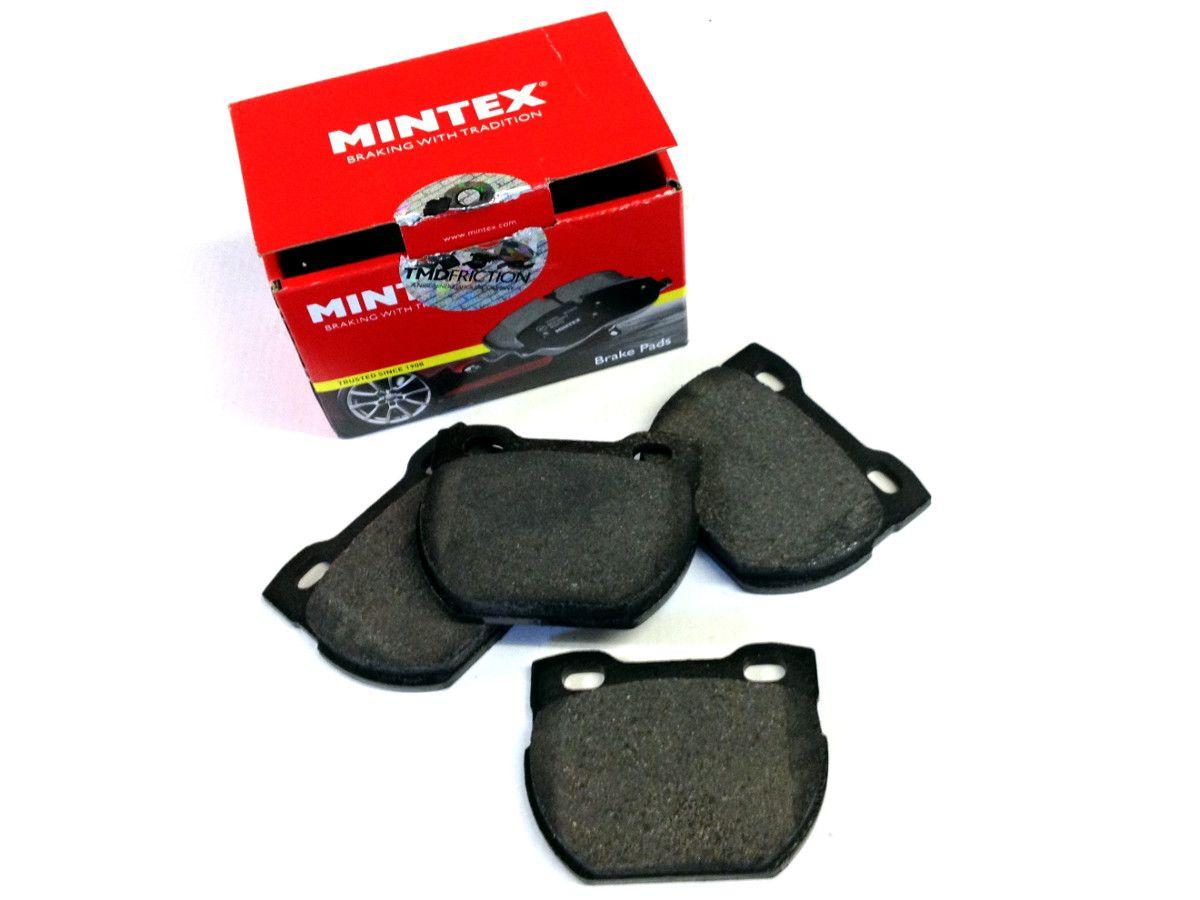 Rear brake pads - 110/130 to 1A614447 - Mintex