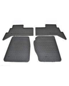 Rubber floor mats - front/rear - Genuine