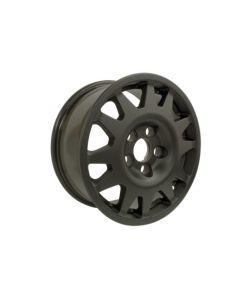 16 X 7 Matt Black Dakar Alloy Wheel (Disco 2 & RR P38)