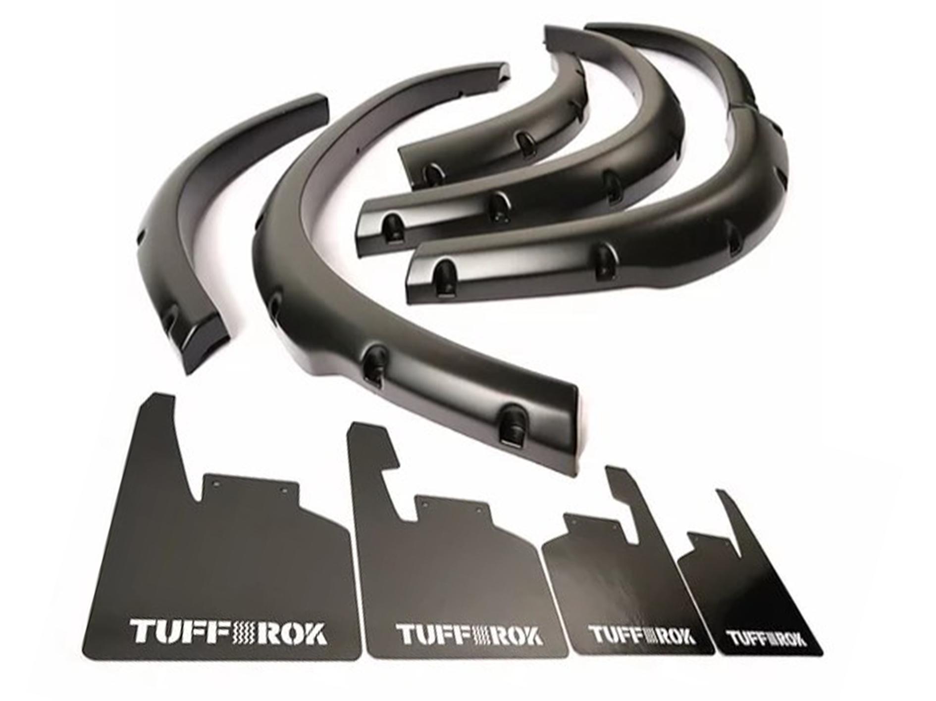 Tuff-Rok D2 Arches & Attached MudFlap Set
