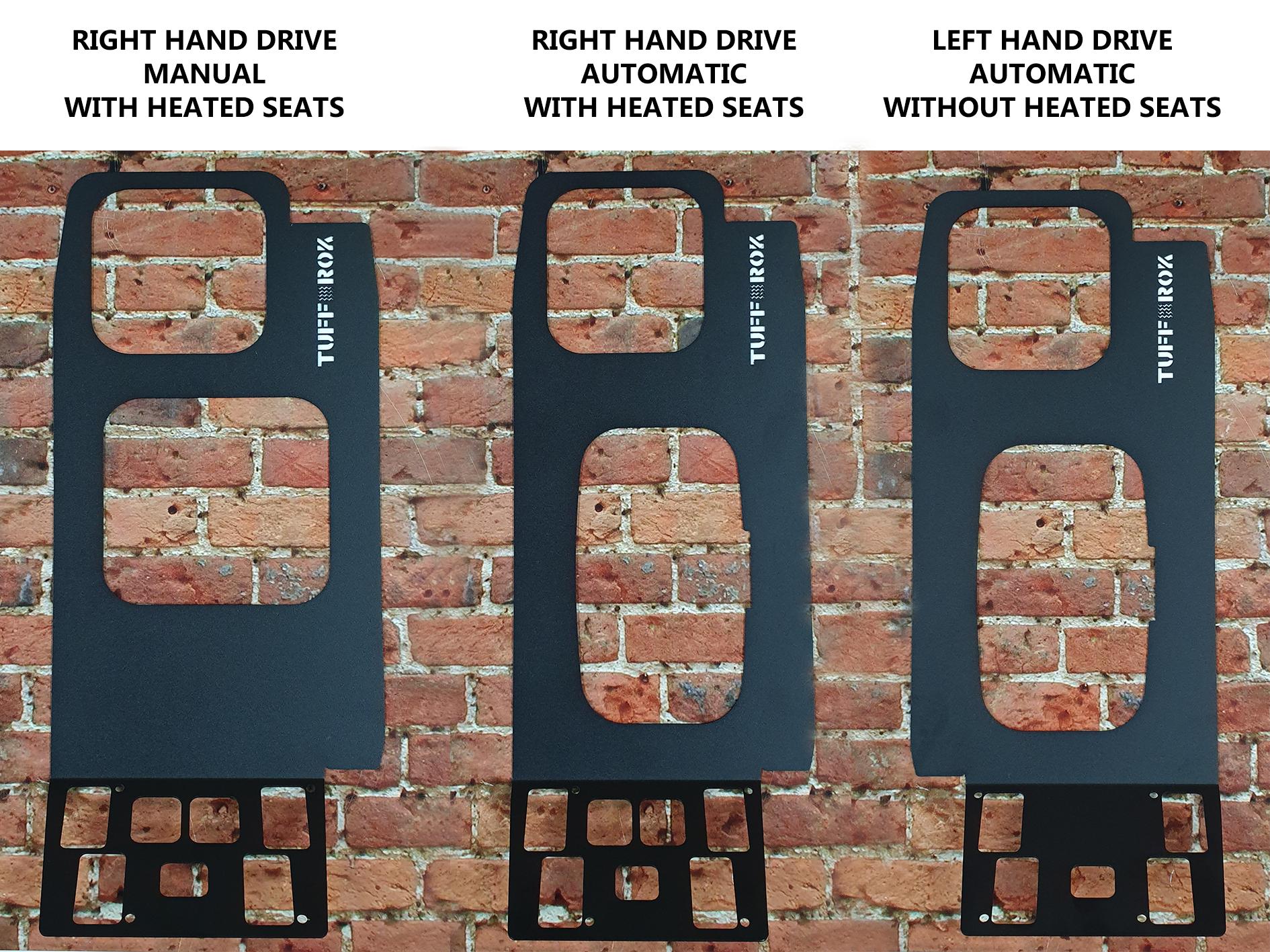 Tuff-Rok Discovery 2 Gearshift / Window Ops Panel