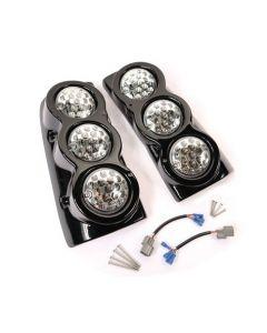 Tuff-Rok Facelift D2 Rear LED Light Pods With Clear Lenses