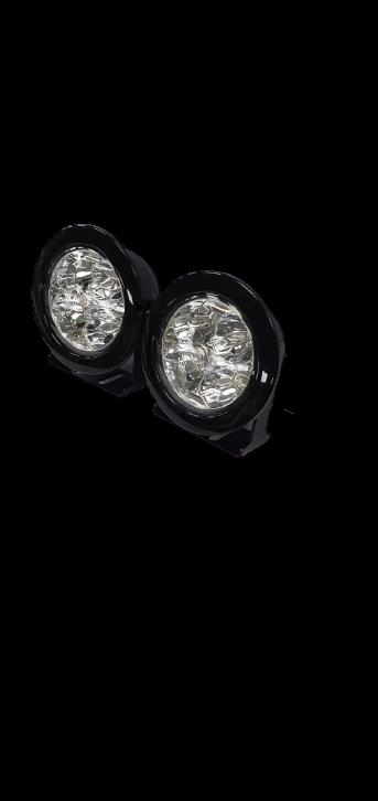Tuff Rok Defender 70mm Round DRL LED's