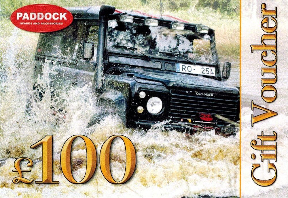 100 GBP Gift Voucher