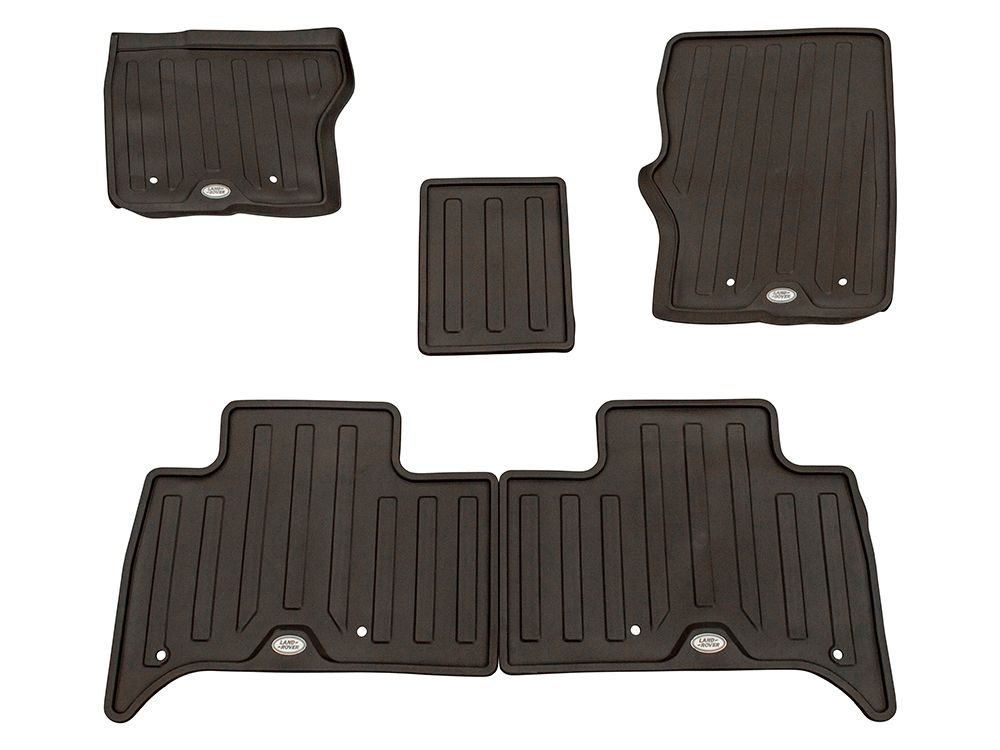 Rubber floor mats for land rover discovery 5