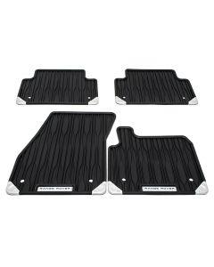 Front & Rear Contour Rubber Mat Set | RHD Manual