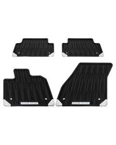 Front & Rear Contour Rubber Mat Set | RHD Auto