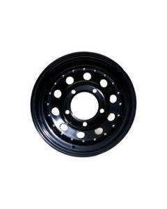 16x7 Black Modular Wheel