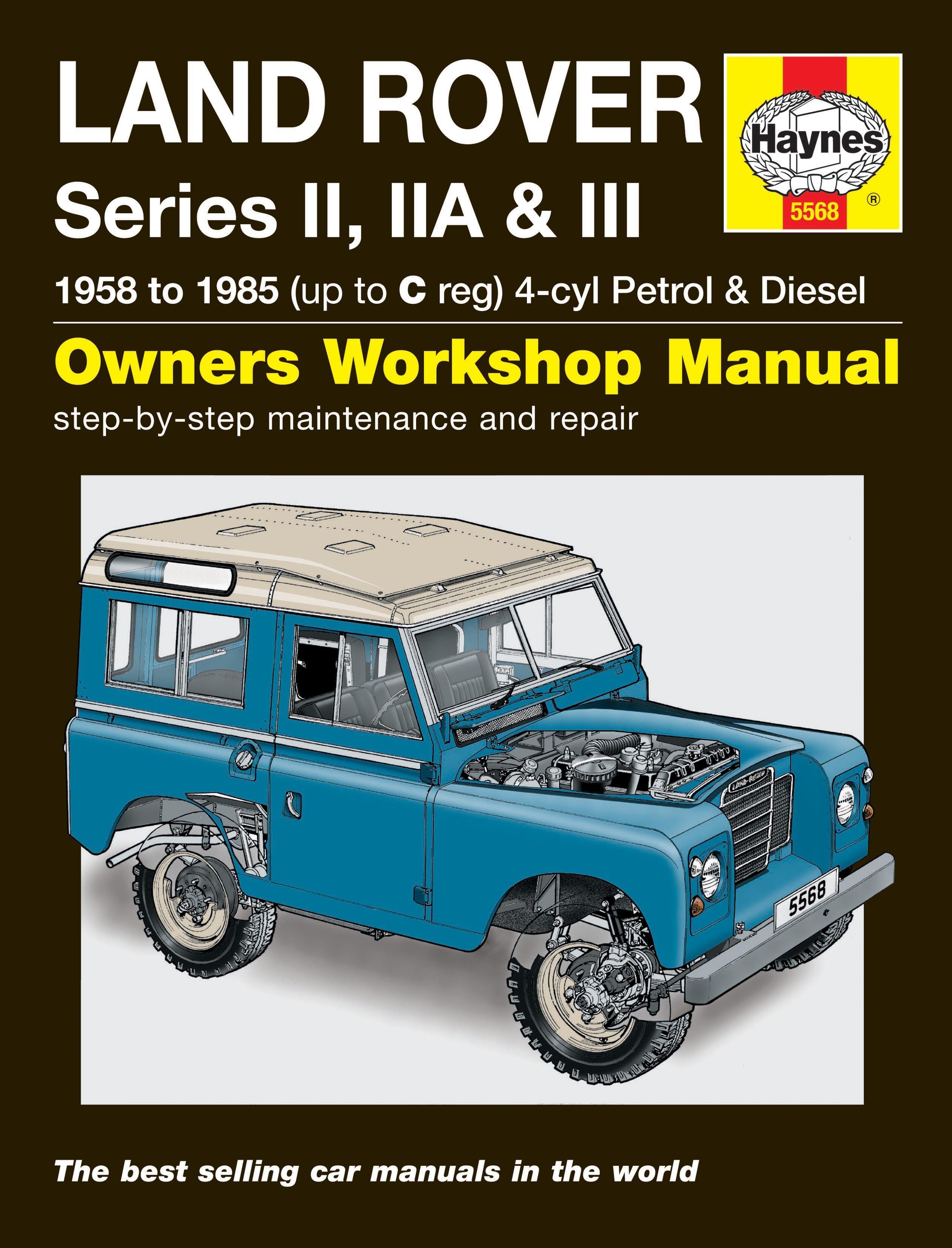 Haynes Land Rover Series II, IIA & III Petrol & Diesel (58 - 85) Haynes Repair Manual