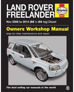 Haynes Workshop Manual for Freelander Diesel (Nov 06 - 14)