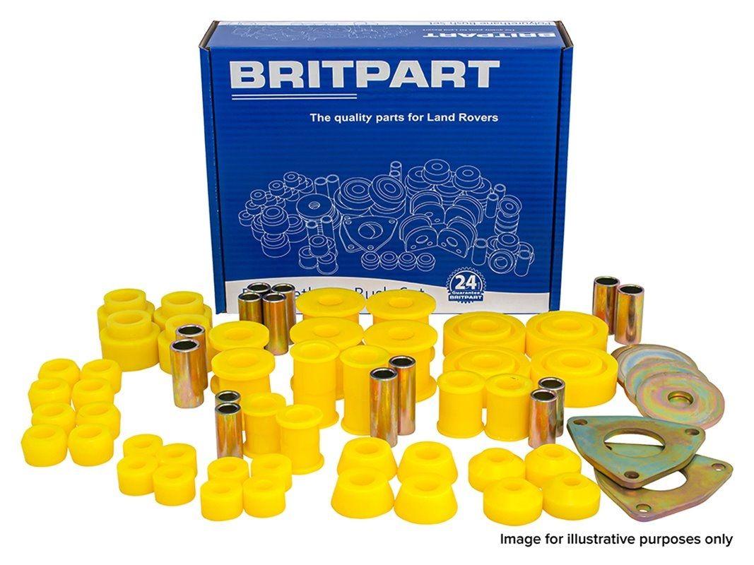 Britpart Yellow Polyurethane Bush Kit | 2007 to 9A766382