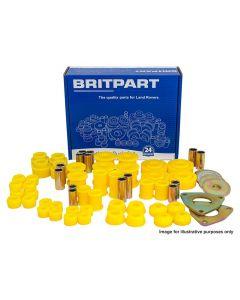 Britpart Yellow Polyurethane Bush kit inc. shock abs bushes - LWB