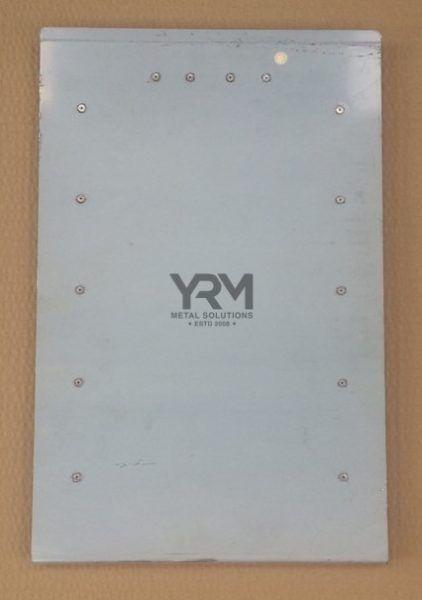 Aluminium Centre Seat Box Lid | Series 2 & 3